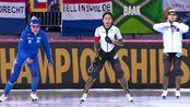 ISU速度滑冰全能及短距离世锦赛全能女子500米 第二组 佩斯滕vs酒井宁子