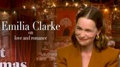 Emilia Clarke on love and romance at Christmas