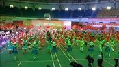 2017年湖南省第八届全民健身节排舞广场舞联赛(湖南赛区)开场舞《蹲蹲舞》