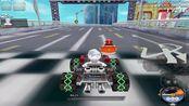 QQ飞车:多数玩家记忆犹新的三圈老图,跑法却鲜为人知,海岸城极速计时