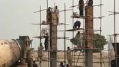 我还是第一次见,巴基斯坦的农民工是这样盖楼的,真是让我长见识了!