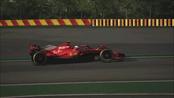 法拉利2021款F1新车 费奥拉诺赛道内部测试!!!(伪)