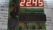 简易电子时钟的制作(学校为什么用51不用32呢) 手动狗头 前1:16效果,后1:06过程