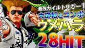 街霸5 AE:Daigo·古烈 28连技组合! & Sako·梅奈特 vs Makinomaria·卡琳 & Bonchan·纳什 vs Makoto·卡琳