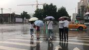 实拍:西安西高新突降大雨,顿时凉快了