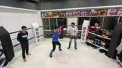 重庆自由搏击,博昇搏击俱乐部实战训练5
