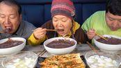 - 不爱看镜头的一家人 - 冬至的红豆粥(Patjuk, Red bean soup)和6倍速版本(2019.12.22)