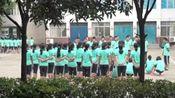 襄阳市第三中学高一新生军训第五天一二一齐步走正在进行时