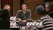 德州扑克: Q9同花红桃Dwan拿34k做bet, 老油条抓诈没抓到输狠了
