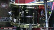 Video Demo- Ludwig Black Beauty Snare Drum w- Brass Trim 6.5x14