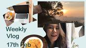 [Brooke's Vlog][中英]在家里学习是什么体验?一周流水英语记录 Weekly Vlog 上网课 读剧本
