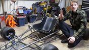 【DIY卡丁车】震惊!据说这是全B站第一辆拨片换挡卡丁车......Building a Kawasaki KX 250 Shifter Kart Part 3
