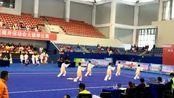 四川省第二届全民健身运动会太极拳比赛 德阳代表队赛况