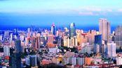 全景航拍山东#青岛市-城市视觉风景线#看看这座新一线滨海城市