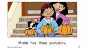 maria counts pumpkins