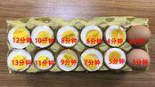 沸水后鸡蛋究竟要煮多久才好吃?看看这个时间对照表立马明白