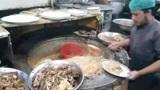 巴基斯坦街头快餐店牛肉焖饭,一份才50卢比,真是便宜又美味啊!