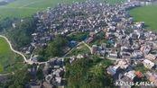 航拍:广西玉林兴业县东周村样貌,这个村子可真够大的