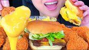 【phan】助眠麻辣炸鸡块和奶酪汉堡淋上奶酪酱(不许说话)(2019年12月28日13时15分)