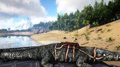 【烈岩】方舟孤岛#7:捕抓句型恐鳄和洪荒泰克乌龟。