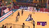 广东篮球联赛:云浮2号韦德附体,小跳步杀入禁区勾手得分