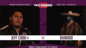 PWG Two Hundred Jeff Cobb vs Bandido (WON:4.25*)