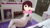 跟练海洋饼干Sophie:解决假胯宽/大腿粗/臀两侧凹陷/臀下垂,第四天,瘦大腿@海洋饼干Sophie