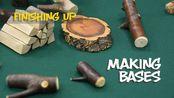 Woodworking With Chris- Making a Base与克里斯一起木工-做底座 树枝雕刻的小物件底座制作