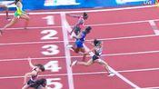 2016美锦赛女子100决赛 加德纳10.74(+1.0)PB夺冠 鲍维10.78第三