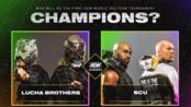 【AEW】2019.10.31 Dynamite 第5期 AEW世界双打冠军锦标赛决赛: Lucha Bros Vs SCU