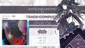 【King_Alone/arcaea】world.execute(me) 新曲子 lost5……