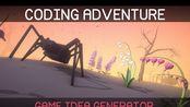 【双语】游戏编程挑战:狗屁不通游戏点子生成器   Coding Adventure: Game Idea Generator