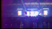 河南省南阳市高铁之夜与民狂欢