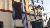 超威常州9.7米室外货梯 1比3的速度