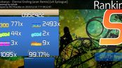 【osu!mania】叠叠叠叠叠叠叠叠 Eternal Ending (aran Remix) [4K Epilogue] 99.17% 172pp