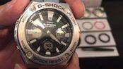 卡西欧G-SHOCK腕表再升级,金属复合材质,G-STEEL系列强悍登场