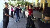 11.李华老师学员团队在南山马英农家乐舞友们开心的跳起欢乐的《赛乃姆》制作/剪接:风雨天涯wqf