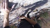 [攀岩] Trad Climbing Gunks Classic Arrow Pitch 1