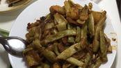 铁岭土豆炖豆角+丹东小海鲜