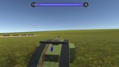战地模拟器素质玩法,开着坦克跨越地图只为炸机场