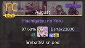 Bartek22830 | Silent Siren - Hachigatsu no Yoru [August] +HDDT 97.69% {#1 609pp