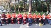 2o19年11月8号红梅公园手鼓表演