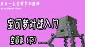 【成为一名宝可梦训练师】对战入门——空间队(下)