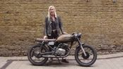 Regulars Rides - Kristen's Honda CD200 Benly Custom
