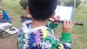 山西太原市刘育昊(八岁)学习;剁.历.滑.吐.飞指练习曲