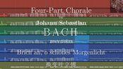 【MIDI演绎录制】【古乐队模拟】巴赫:四声部众赞歌 BWV 218.13:Brich an, o schnes Morgenlicht