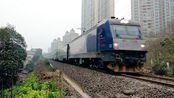 25T车体的K字火车,HXD3C牵引K9564次列车由贵阳开往内江
