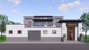 河南漯河二层半17X23米新中式宅院设计,轻奢雅致!