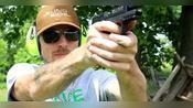 史密斯韦森MP22手枪,采用.22lr口径弹药,户外射击测试