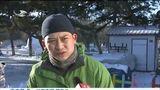 [新闻早报-吉林]长春市民受邀参与南湖公园雪雕制作全过程